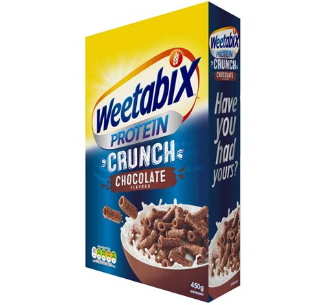 protein cereal weetabix protein crunch 100 wholegrain high protein cereals