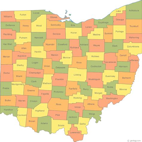 map of showing counties maps march 2012