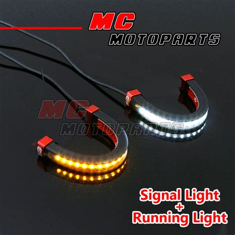 Front Fork Light Led Turn Signal Light Indicator For