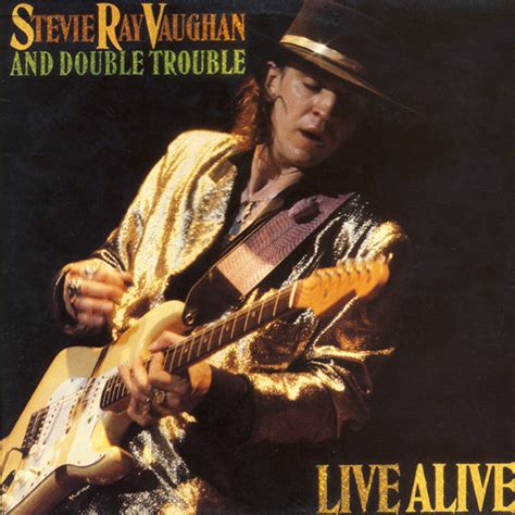 stevie ray vaughan double trouble  alive vinyl lp album discogs