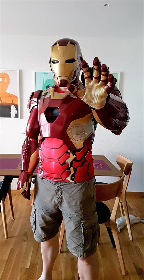 iron man age ultron mk printed armour build page