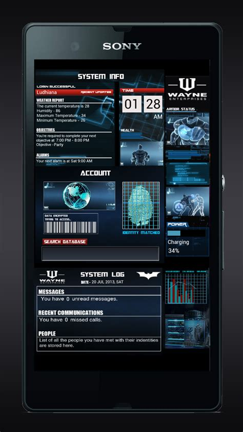 android themes batman batman batcave styled uccw theme android development