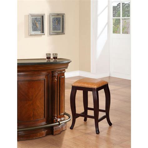 linon home decor san francisco 24 in brown wenge