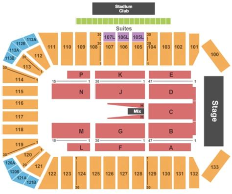 Toyota Seating Toyota Stadium Tickets In Frisco Toyota Stadium