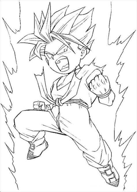 online coloring pages dragon ball z get this free dragon ball z coloring pages 16969