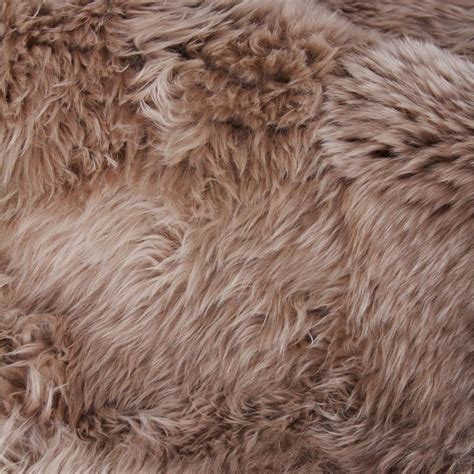 brown fur rug exquisite rugs sheepskin modern classic light brown fur rug 11 6 quot x 14 6 quot kathy kuo home