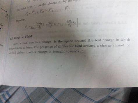 electrostatics electric field scalar quantiy  vector