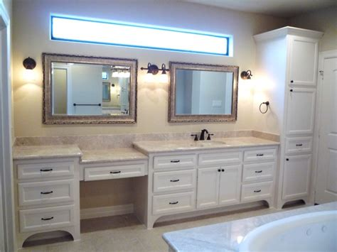 Custom Bathroom Furniture Custom Bathroom Cabinets Vanities Traditional Bathroom Houston By Custom Cabinets Houston