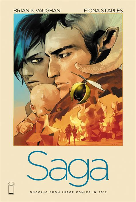 book one in the saga volume 1 books saga revealed by brian k vaughan at comic con comics