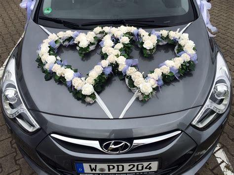Hochzeitswagen Deko by Blumen Sanders Hochzeit Autodeko