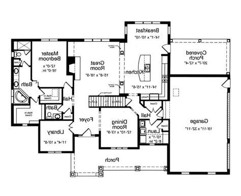 split level open floor plan open floor plan house plans with photos