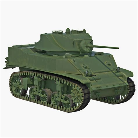 stuart brenton fid 360 on m5a1 stuart light wwii model