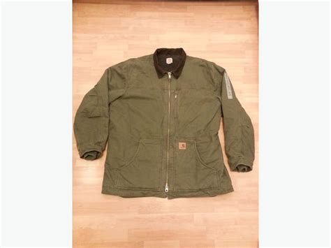 Kaos Carhartt Size Xl new carhartt army green c61 sherpa lined sandstone ridge coat size xl city