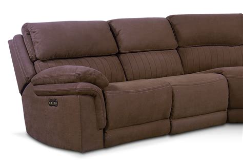 One80 Sectional by Monterey 5 Power Reclining Sectional With 3