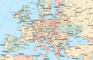 map of europe picture maps of europe and european countries at map with cities