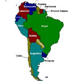 map of countries of south america usgs minerals information south america