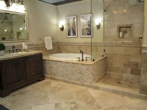 25 best ideas about travertine bathroom on
