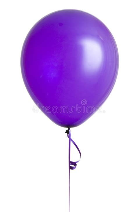 purple balloon  white stock photo image  purple