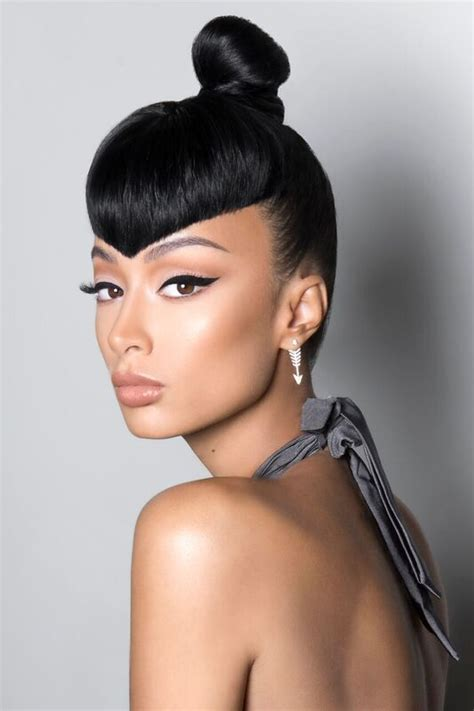Versatile Hairstyles by Get Into Draya Michele S Colorful And Versatile Hairstyles