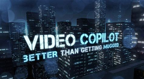 tutorial video copilot video copilot after effects tutorials plug ins and