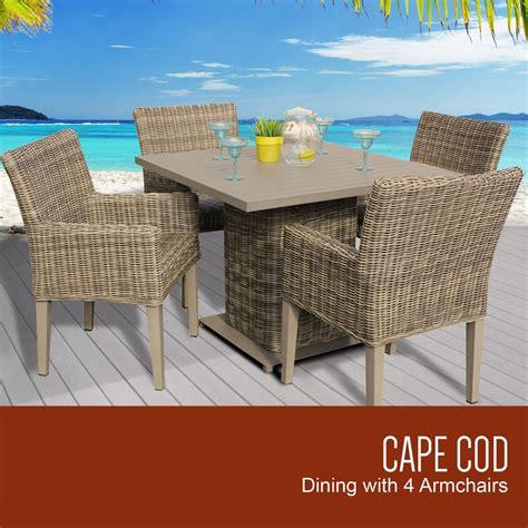 TK Classics Cape Cod Collection Square Outdoor Patio