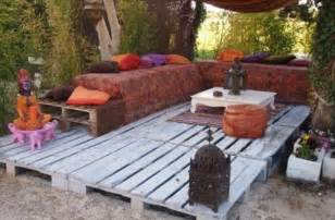 How To Make Patio Furniture With Pallets by Pallet Patio Deck Unique Use Of Pallet Pallet
