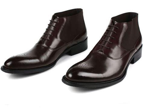 office mens boots aliexpress buy fashion black brown mens dress