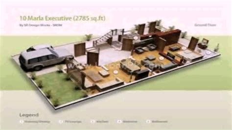 Home Maps Design 10 Marla 10 marla house map design in india youtube