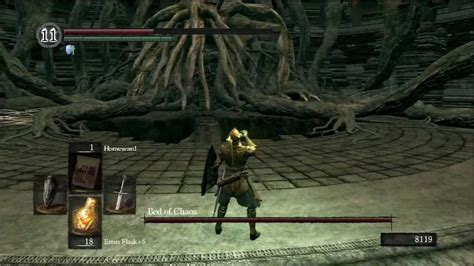 bed of chaos fight dark souls boss battle bed of chaos youtube
