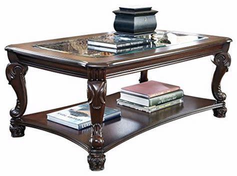 norcastle rectangular cocktail table furniture signature design norcastle coffee table