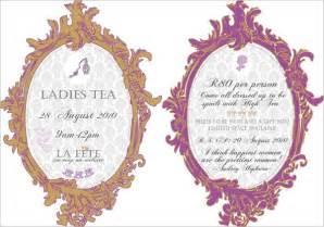 tea invitation template theruntime