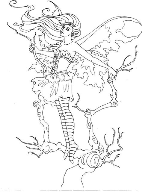 mystical elf coloring pages mystical coloring pages printable coloring pages