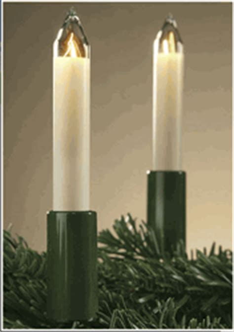 german electric candles for christmas tree