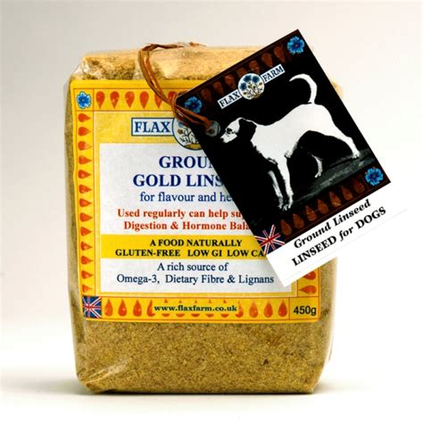 flaxseed for dogs ground gold linseed flaxseed for dogs 450g