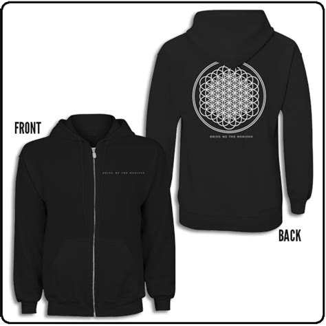 Hoodie Bring Me The Horizon Hitamrockzillastore bring me the horizon official bring me the horizon merchandise officially licensed t