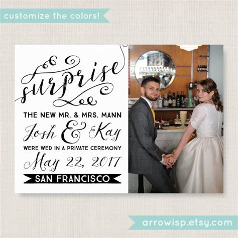 Wedding Announcement Cards by 21 Wedding Announcement Templates Free Sle Exle