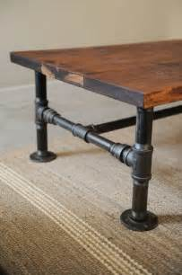 Diy Pipe Coffee Table Diy Coffee Table Projects The Budget Decorator
