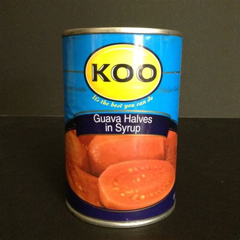 Wilmond Halves In Syrup Canned 187 koo guava halves in syrup 410g can