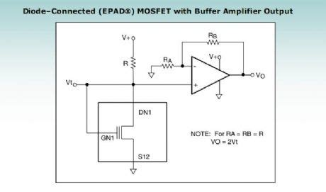 diode connected mosfet design diode connected mosfet voltage divider 28 images high current power mosfet with current