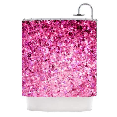 pink glitter curtains ebi emporium quot romance me quot pink glitter shower curtain