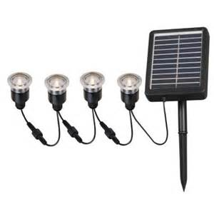 Solar Patio Lights Home Depot Kenroy Home 2 In Outdoor Solar String Black Deck Light 4 Pack Hdp12011 The Home Depot