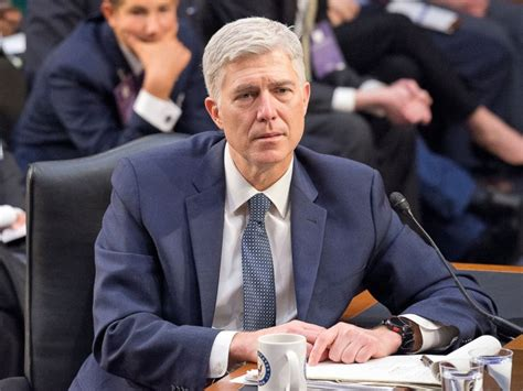 Senate approves 'nuclear option,' clears path for Neil ... Judge Neil Gorsuch