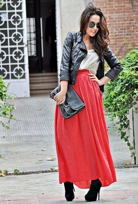 how to wear maxi skirts in winter tips hair care