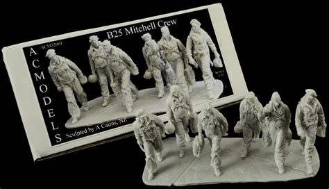 model boat figures 1 32 the modelling news ac models 1 32nd scale wwii b 25