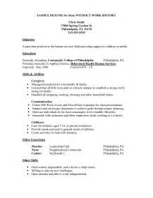 Jobs Without Resume by Resume Employment History Getessay Biz