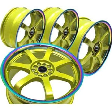 custom colored rims gold wheel rims wtitanium colored liphayame wheels and