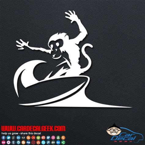 Surf Stickers For Cars