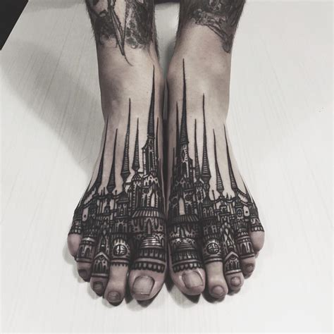 top of foot tattoo 70 best foot tattoos collection