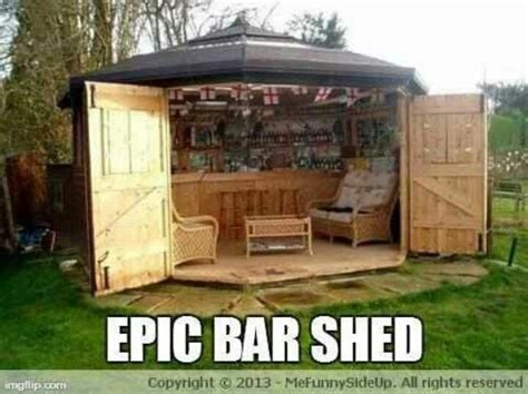 how to build a bar in your backyard epic bar shed ideas diy pinterest backyards bar and