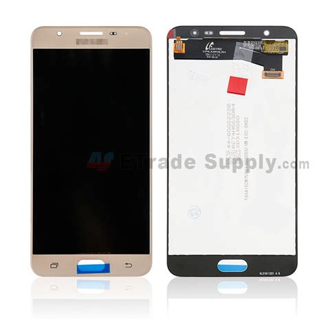 Lcd J7 Prime samsung galaxy j7 prime lcd screen and digitizer assembly gold with logo grade s etrade